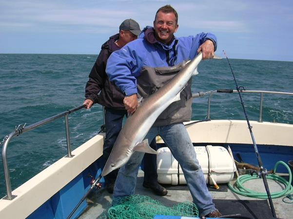Tope Fishing with Chris Mole Charters